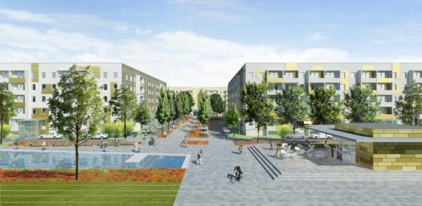 Example of project analysed:  Potsdam Garden City. Source: Pia von Zadow Landschaftsarchitekten.